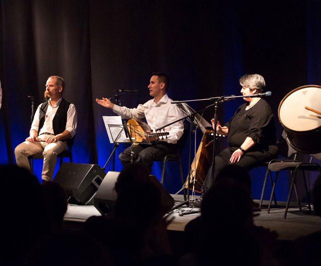 Sültü 20 jubileumi koncert a moldvai csángó népzenét játszó Sültü Zenekarral